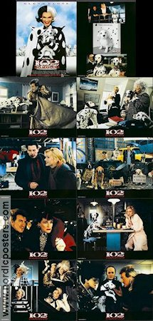 102 Dalmatians 2000 lobbykort Glenn Close