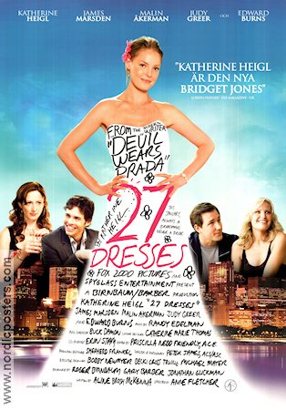 27 Dresses 2008 poster Katherine Heigl Anne Fletcher