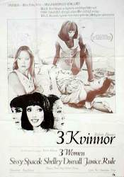 3 kvinnor 1980 poster Sissy Spacek Robert Altman