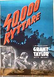 40000 ryttare 1947 poster Grant Taylor