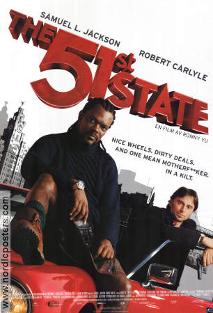 The 51st State 2002 poster Samuel L Jackson Ronny Yu