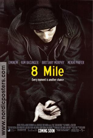 8 Mile filmaffisch poster