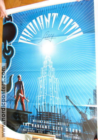 Mister X Radiant City Story Signed 2011 affisch