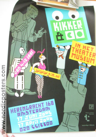 Kikker and Co Theater Mus Amsterdam 2005 affisch