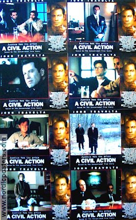 A Civil Action 1998 lobbykort John Travolta