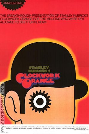 A Clockwork Orange Poster reproduction B RO 61x87