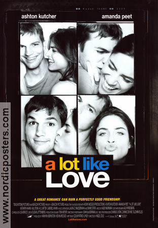 A Lot Like Love 2005 poster Ashton Kutcher Nigel Cole