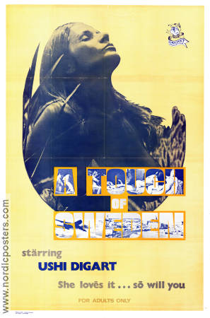 A Touch of Sweden 1971 poster Ushi Digart