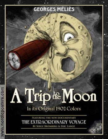 A Trip To the Moon 1902 poster Georges Mélies