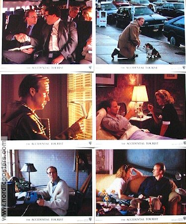 The Accidental Tourist 1988 lobbykort William Hurt