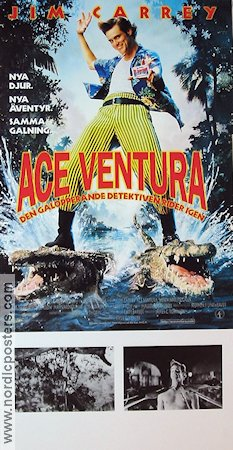 Ace Ventura 2 1996 poster Jim Carrey