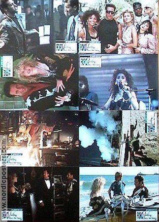 Adventures of Ford Fairlane 1990 lobbykort Andrew Dice-Clay Renny Harlin