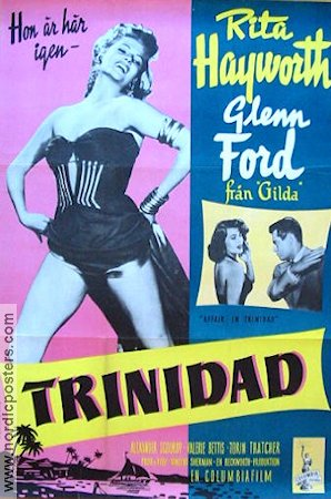 Affair in Trinidad 1952 poster Rita Hayworth