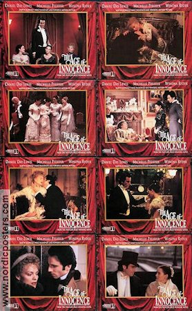 The Age of Innocence 1993 lobbykort Michelle Pfeiffer Martin Scorsese