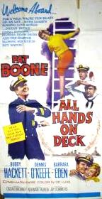 All Hands on Deck Poster USA 102x204 3-sheet original