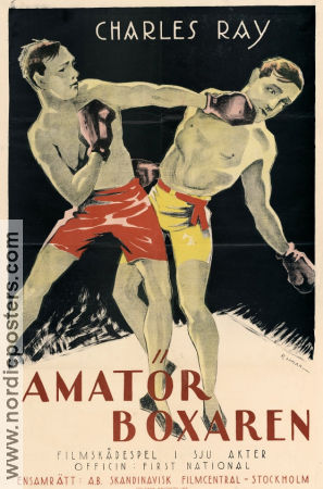 Amatörboxaren 1921 poster Lydia Knott Charles Ray