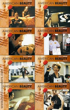 American Beauty 1999 lobbykort Kevin Spacey Sam Mendes