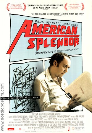 American Splendor 2003 poster Chris Ambrose Shari Springer Berman
