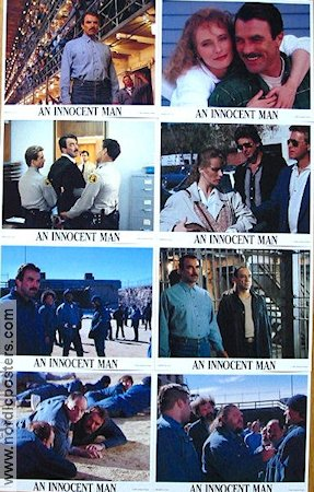 An Innocent Man 1989 lobbykort Tom Selleck