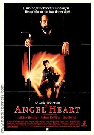 Angel Heart 1987 poster Mickey Rourke Alan Parker