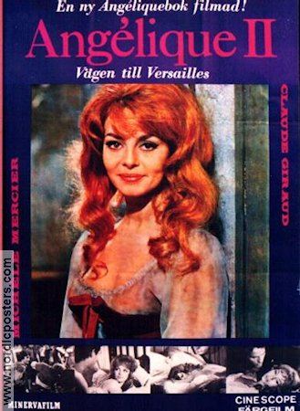 Angelique 2 1965 poster Michelle Mercier