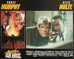 Another 48 Hours 1990 lobbykort Eddie Murphy