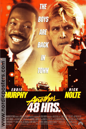 Another 48 Hrs 1990 poster Eddie Murphy