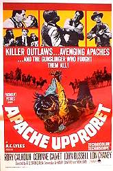 Apacheupproret 1966 poster Lon Chaney Jr