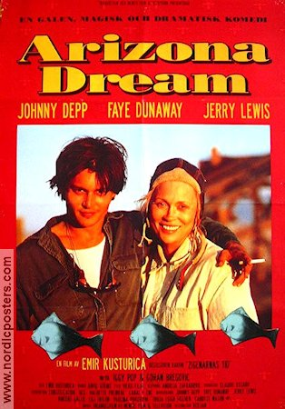 Arizona Dream 1993 poster Johnny Depp Emir Kusturica