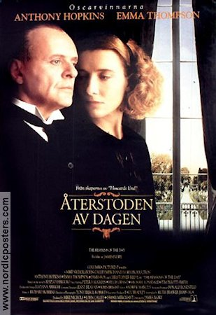 Återstoden av dagen 1995 poster Anthony Hopkins