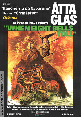 Åtta glas 1971 poster Anthony Hopkins Etienne Périer