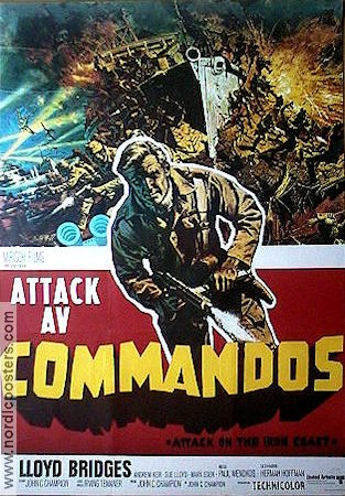 Attack av commandos 1968 poster Lloyd Bridges