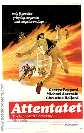 Attentatet 1972 poster George Peppard