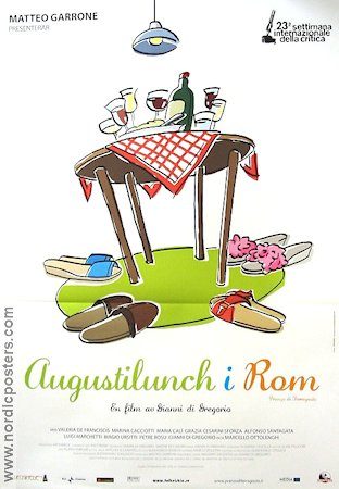 Augustilunch i Rom 2009 poster Gianni di Gregorio
