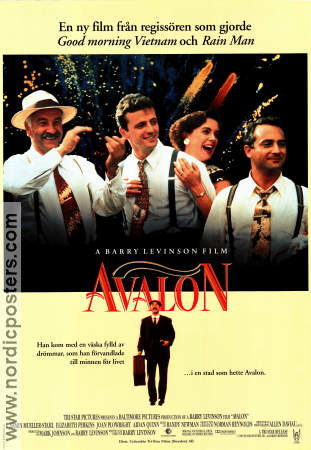 Avalon 1990 poster Armin Mueller-Stahl Barry Levinson