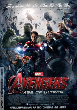 Avengers Age of Ultron 2015 poster Robert Downey Jr Joss Whedon