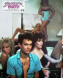 Bachelor Party 1984 lobbykort Tom Hanks