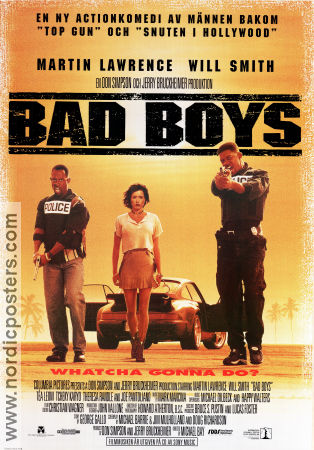 Bad Boys 1995 Will Smith Martin Lawrence
