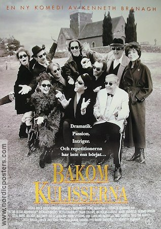 Bakom kulisserna 1995 poster Richard Briers