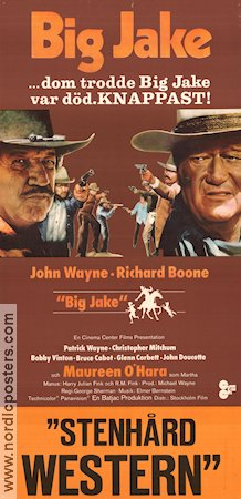 Big Jake 1971 poster John Wayne George Sherman