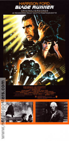Blade Runner 1982 poster Harrison Ford Ridley Scott