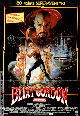 Blixt Gordon 1981 poster Timothy Dalton