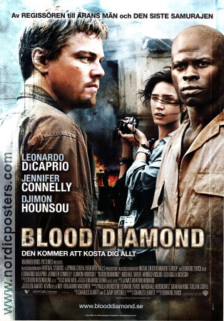 Blood Diamond 2006 poster Leonardo di Caprio