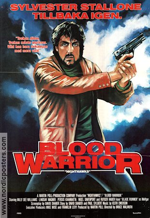 Blood Warrior 1981 poster Sylvester Stallone Bruce Malmuth