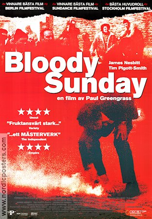 Bloody Sunday Poster 70x100cm RO original
