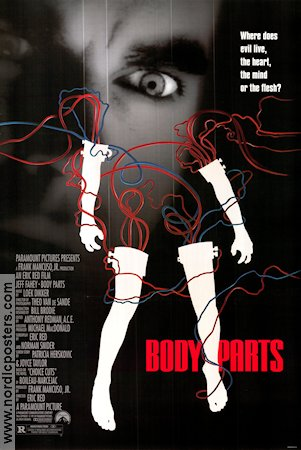 Body Parts Poster 68x102cm USA RO original