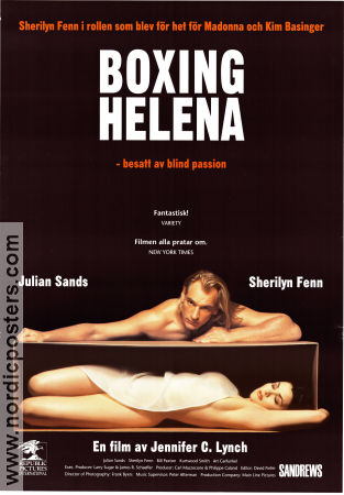 Boxing Helena 1993 poster Julian Sands