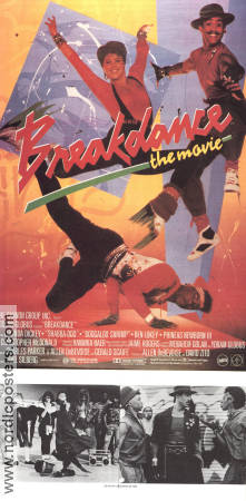 Breakdance the Movie Poster 30x70cm FN original