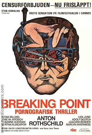 Breaking Point 1975 poster Bo Arne Vibenius