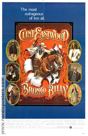 Bronco Billy Poster 68x102cm USA FN original